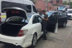 Uyuşturucu satıcısı ile polis kovalamacısı sonucunda 6 araç kullanılamaz hale geldi
