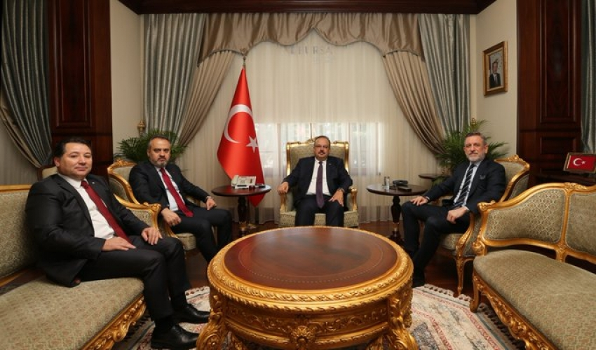 Valilikte Bursaspor toplantısı