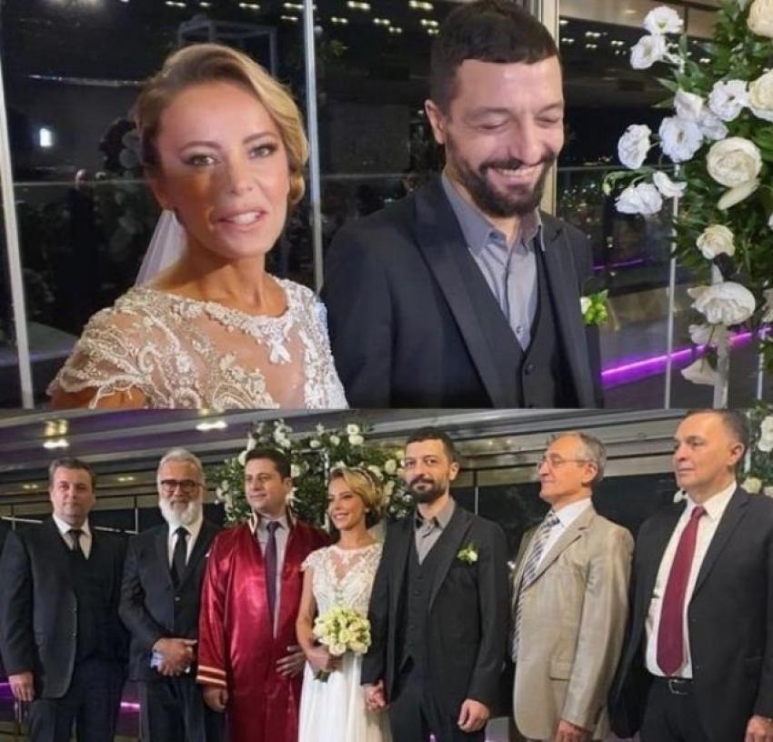 Vildan Atasever ile Mehmet Erdem hayatlarını birleştirdi!