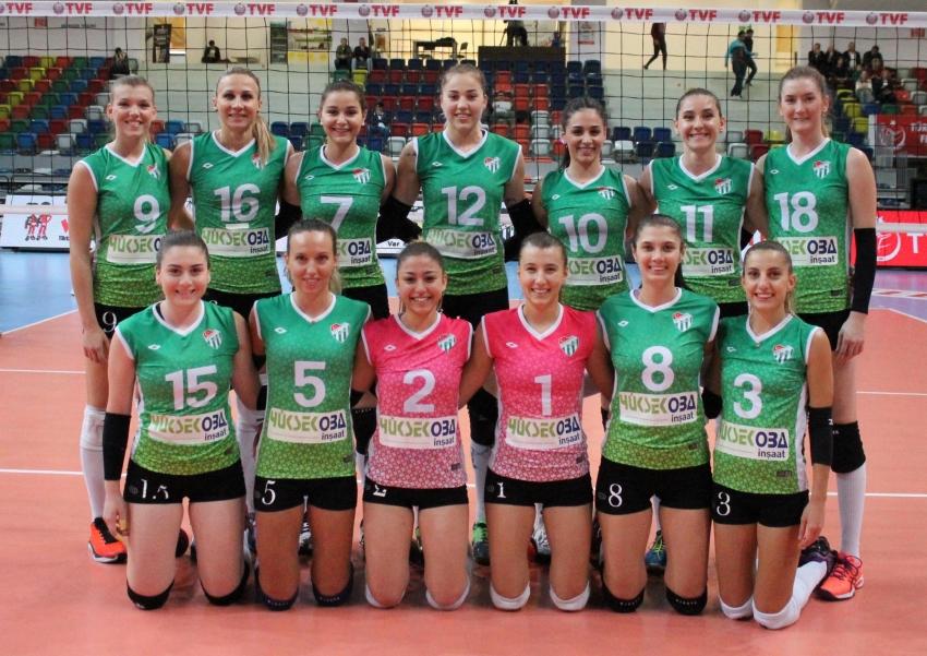 Bursaspor Yüksekoba 3–1 Kahraman Kazan Belediyesi