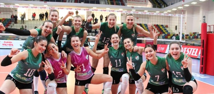 Bursaspor Yüksekoba-Bolu Belediyespor: 3-2