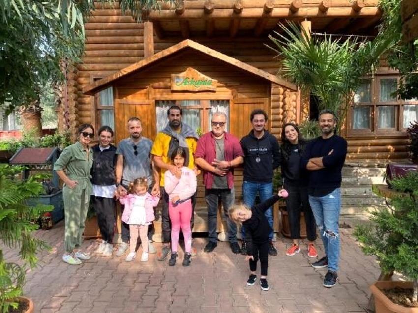 Volkan Demirel yeni yaşını İznik'te kutladı