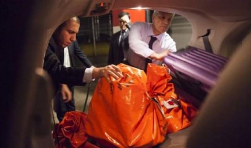 THY'nin uçağı ile Türkiye'ye yollandı