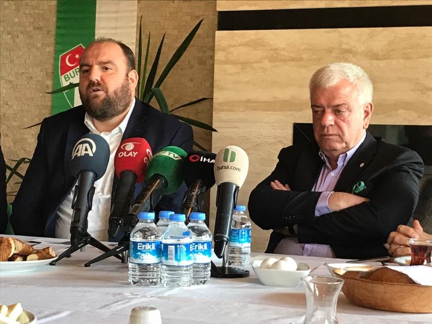 Bursaspor'dan iddialara yanıt geldi!