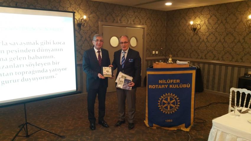 Nilüfer Rotary Kulübü'nden 18 Mart'ta anlamlı etkinlik