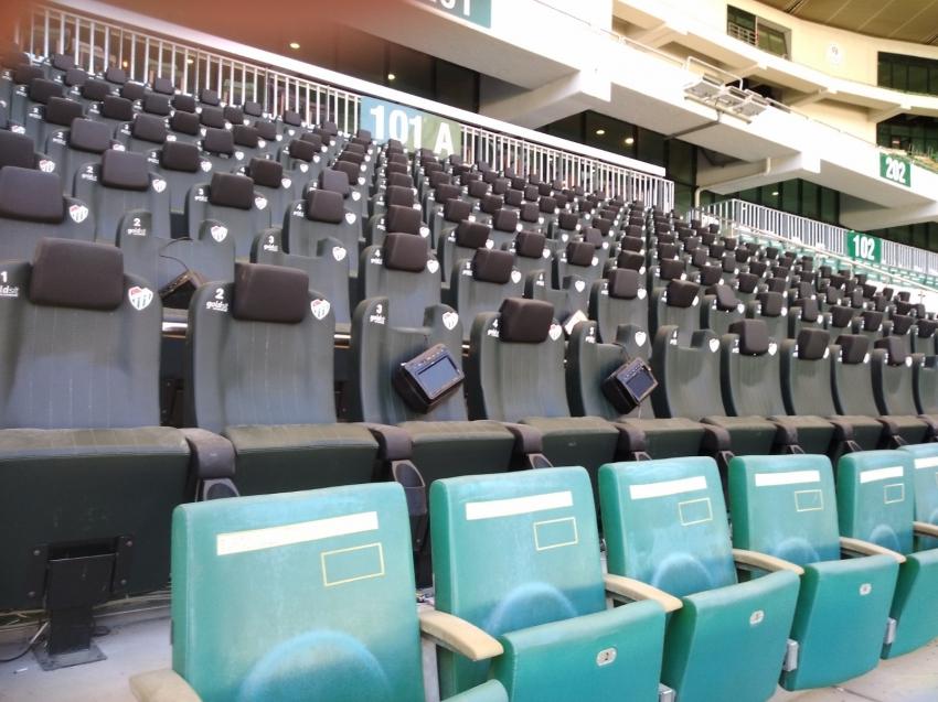 Timsah Arena'da zarar büyük