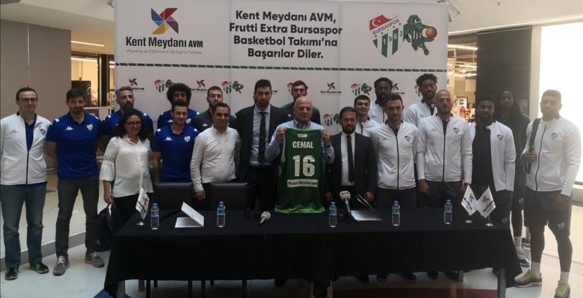 Frutti Extra Bursaspor'dan yeni sponsorluk anlaşması
