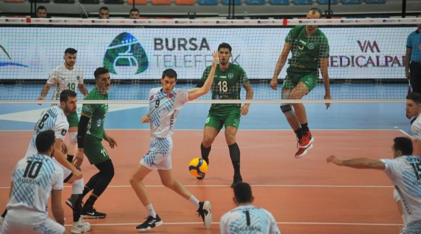 Bursa Büyükşehir Belediyespor-Halkbank: 0-3