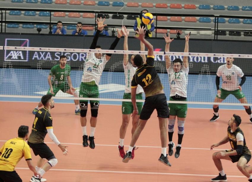 Bursa Büyükşehir Belediyespor-Sorgun Belediyespor: 3-0