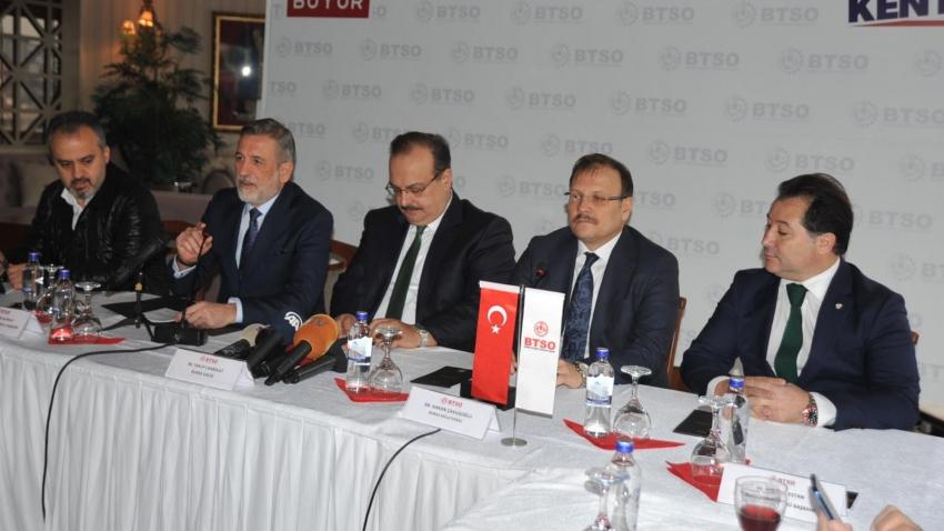 """Burkay """"Çare Bursaspor'un şirketleşmesinde!"""""""
