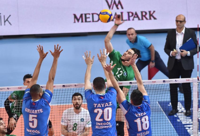 Derbiyi Büyükşehir kazandı: 3-1