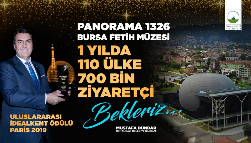 Bursa Fetih Müzesi'ne 1 yılda 700 bin ziyaretçi