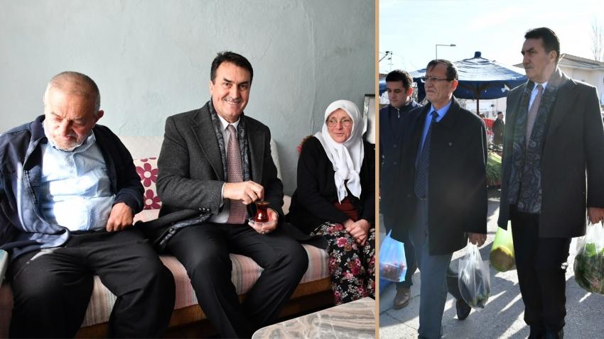 Başkan Dündar'dan sürpriz ziyaret