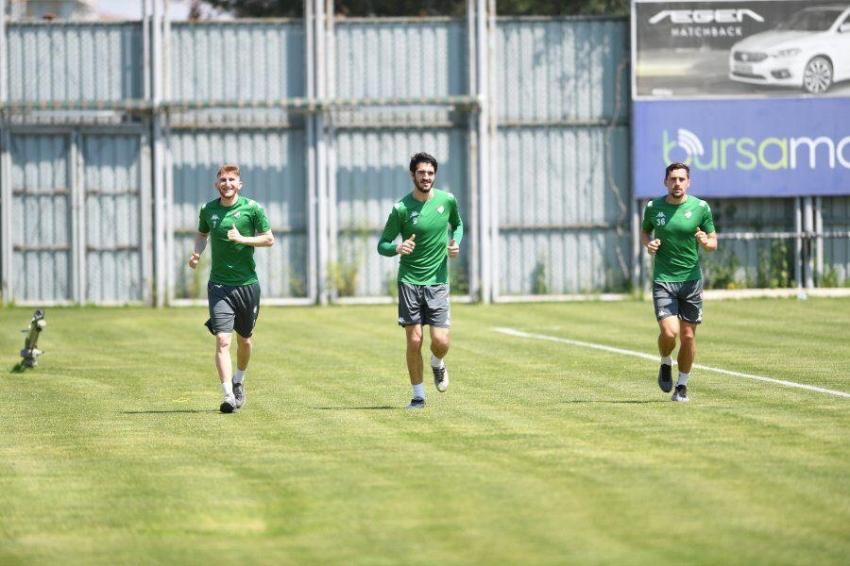 Bursaspor Covid19 testinden geçti
