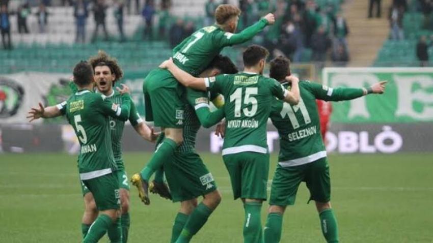 Bursasporlu futbolculardan büyük fedakarlık