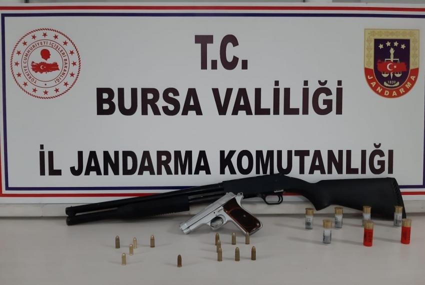 Bursa'da silah kaçaklığı operasyon