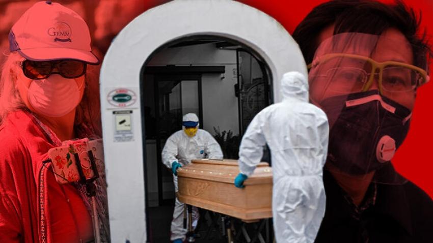 Virüsten ölümde Avrupa zirvede