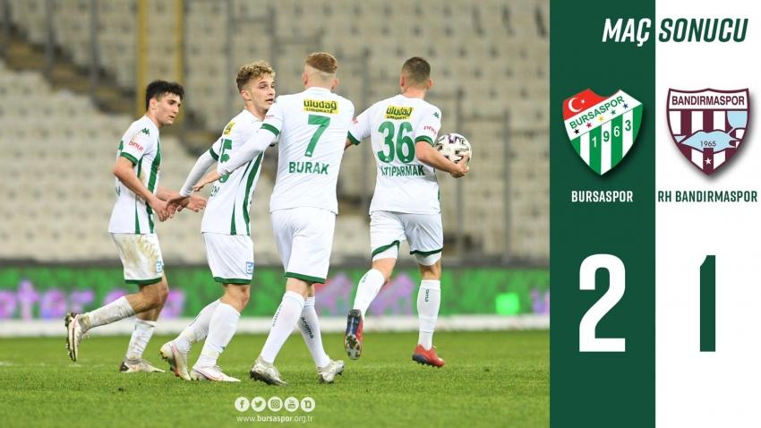 Bursaspor: 2 - Bandırmaspor: 1