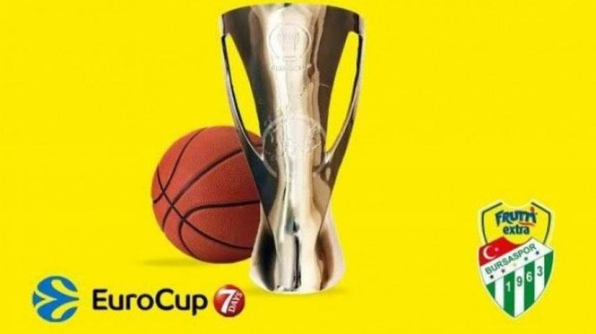 İşte Frutti Extra Bursaspor'un Euro Cup fikstürü