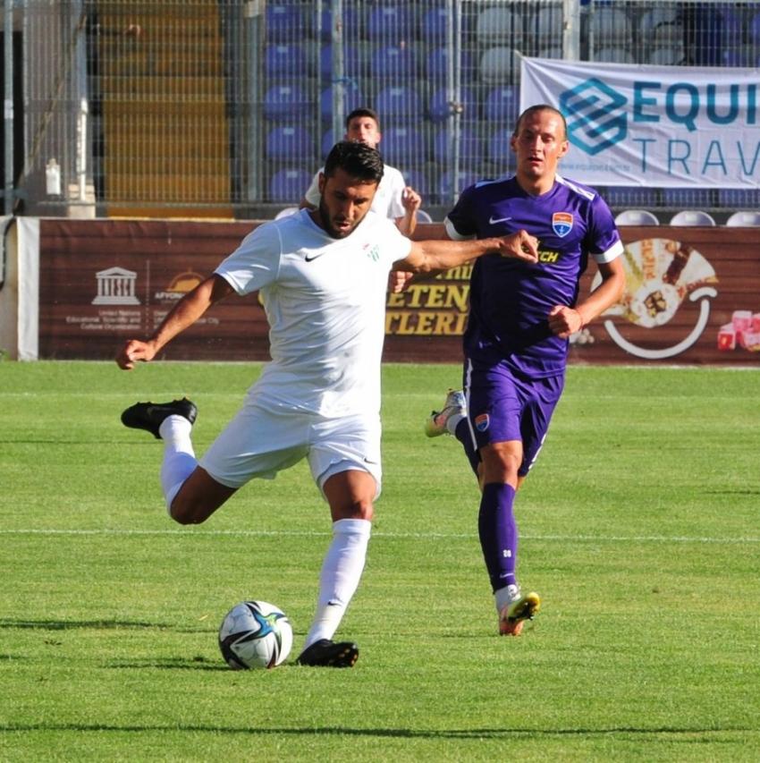 Bursaspor Samsunspor ile karşılaşıyor