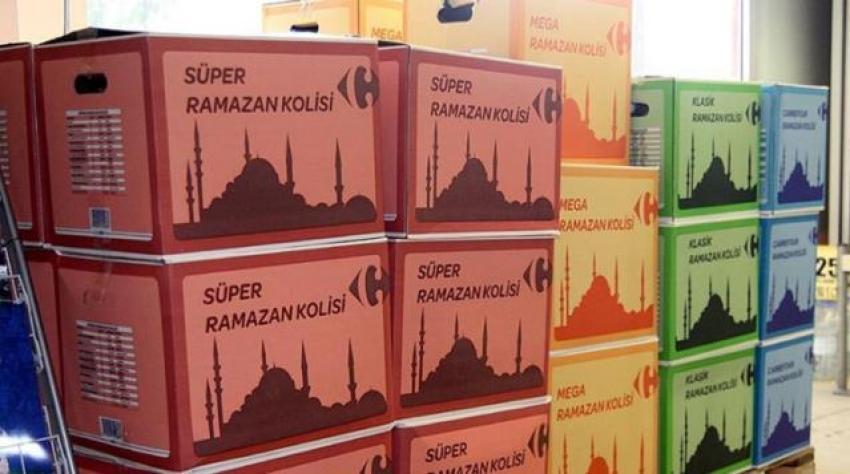 Zincir marketlerin Ramazan kolisi fiyatları