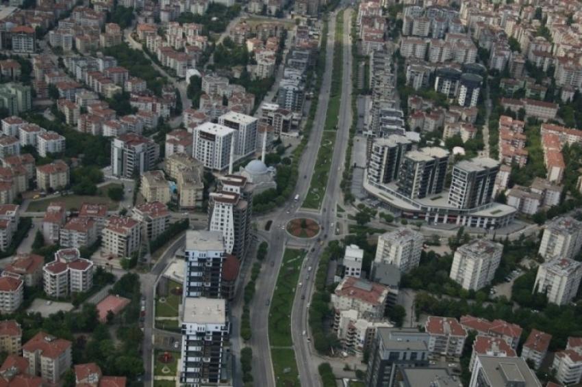 Bursa'da havadan denetim