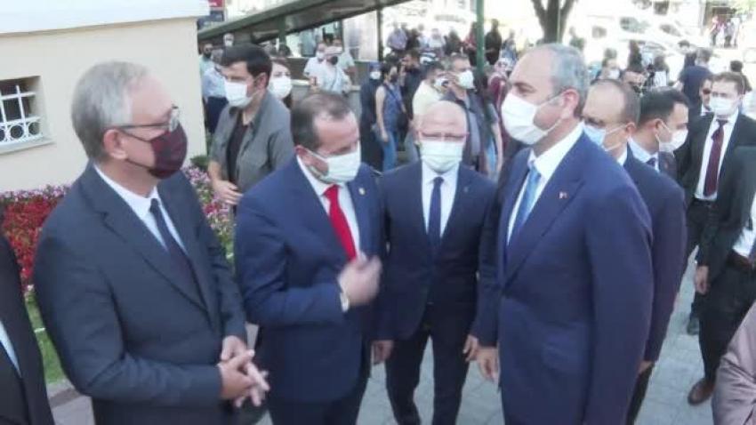 Adalet Bakanı Gül'ün Bursa temasları