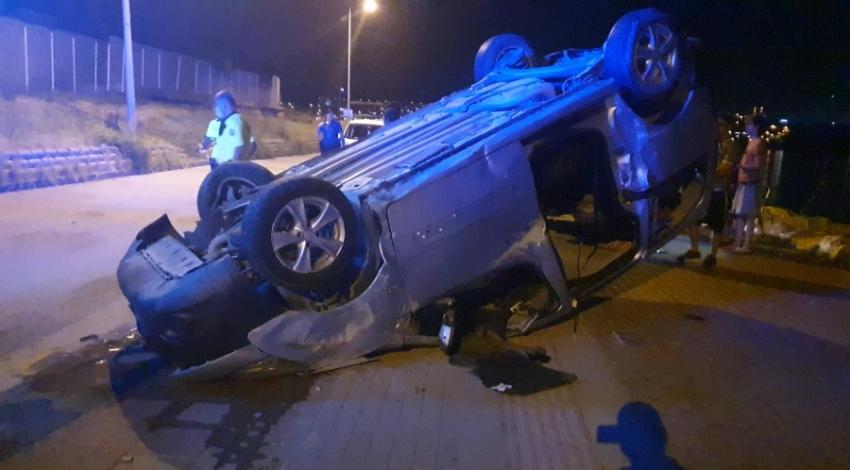 Gemlik'te trafik kazası
