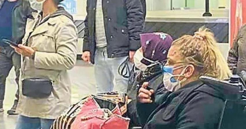 Kibariye İzmir-İstanbul uçağında fenalaştı!