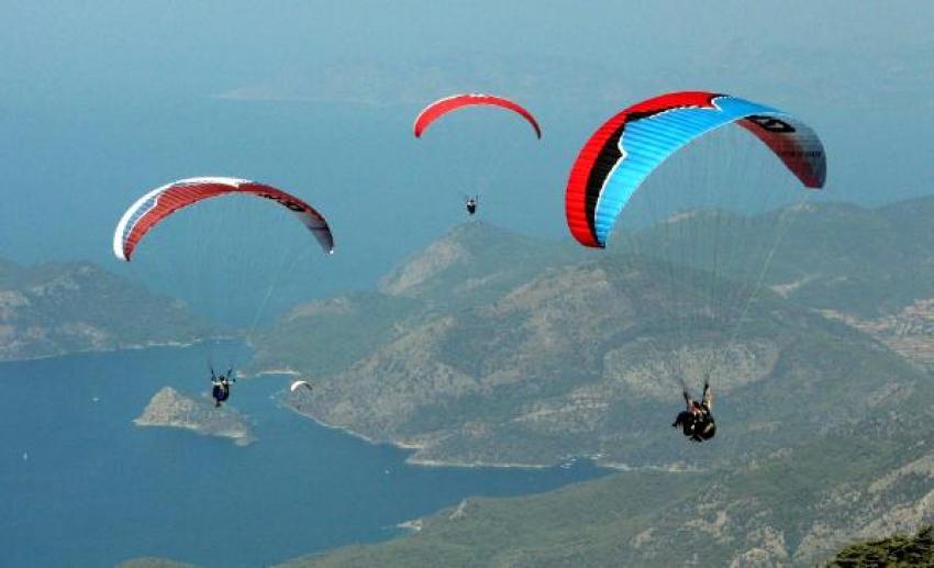 Yamaç paraşütüyle uçanların sayısı yüzde 41 arttı