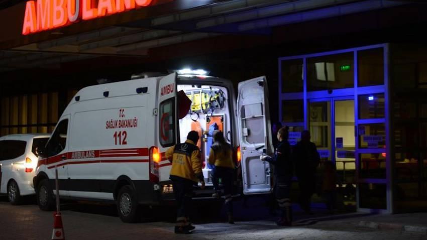 Yaralı 14 Suriyeli Kilis'e getirildi