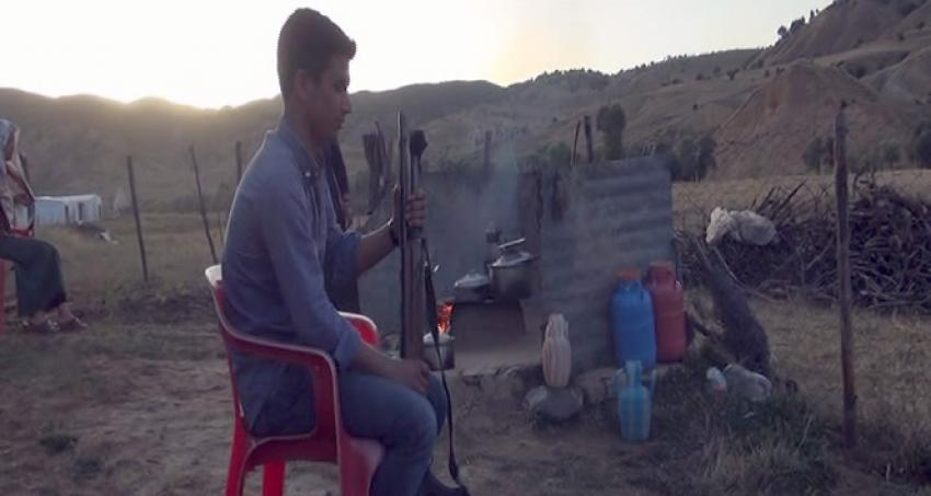 Yaylada silah sesiyle iftar