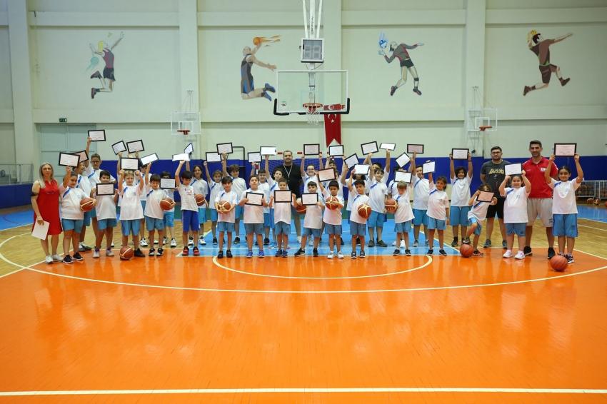 Nilüfer'de yaz Spor Okulları'nda sertifika heyecanı