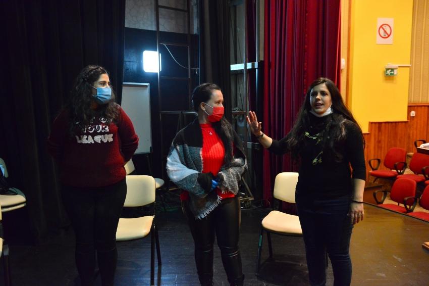 Yıldırım'da maskeli-mesafeli drama eğitimi