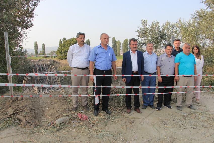 Yenişehir'in en büyük köprüsü yapılıyor