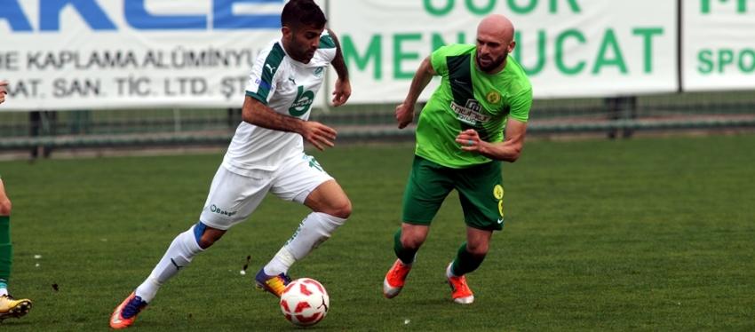 Yeşil Bursa 0-1 Darıca Gençlerbirliği