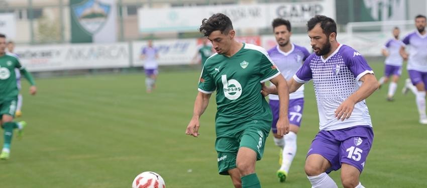 Yeşil Bursa 0-3 Yeni Orduspor