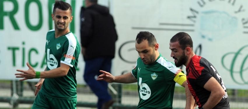 Yeşil Bursa 0-1 Turgutluspor