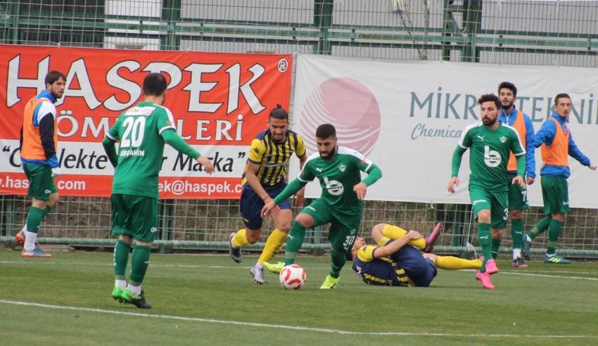 Yeşil Bursa: 1- 2 Kırıkhanspor