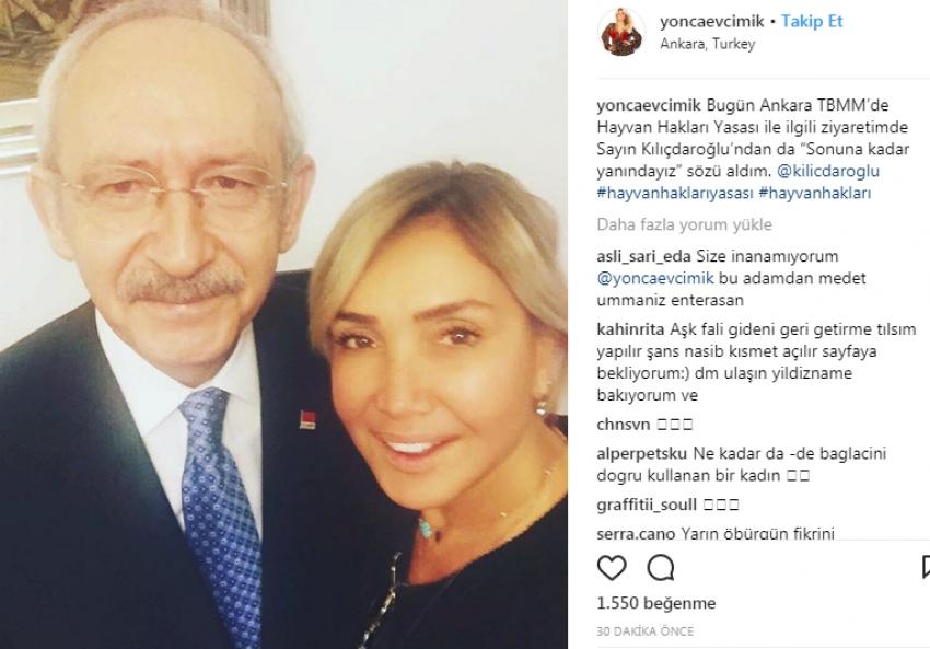 Kılıçdaroğlu'ndan Yonca Evcimik'e söz!