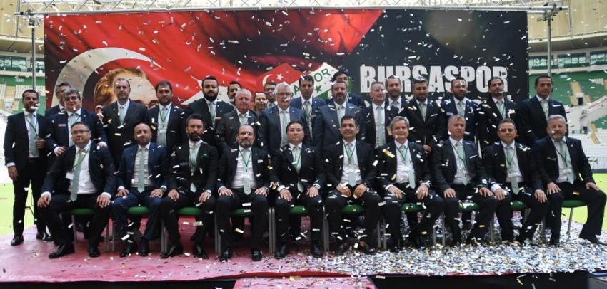 Bursaspor yönetimi görev dağılımı yaptı
