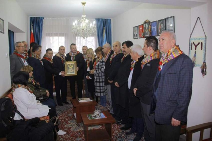 Yörük Türkmenleri, MHP Bursa il yönetimini ağırladı