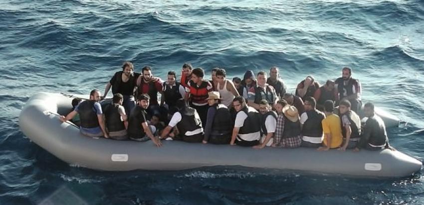 Yunan adalarında 4 bin 237 kaçak göçmen yakalandı