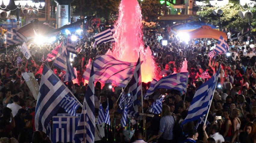Yunan halkı nelere hayır dedi?