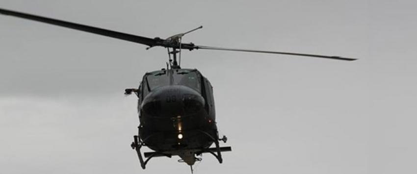 Yunanistan'da askeri helikopter düştü: 4 ölü