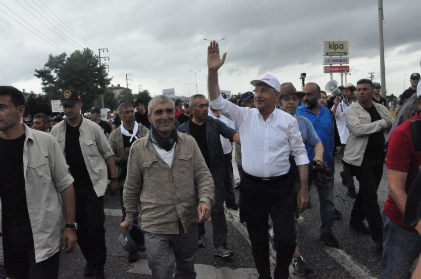 CHP'de yürüyüşün 20. günü tamamlandı