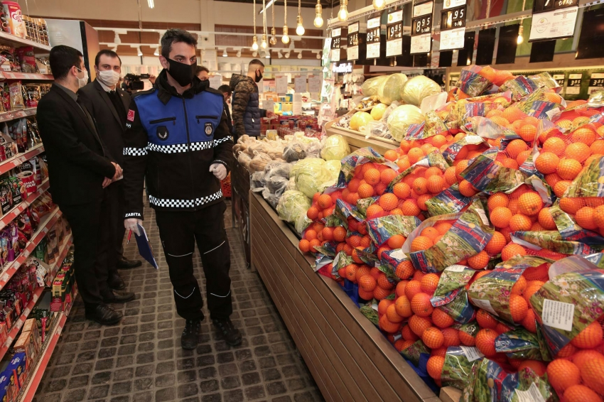 Nilüfer'de marketlere sıkı denetim