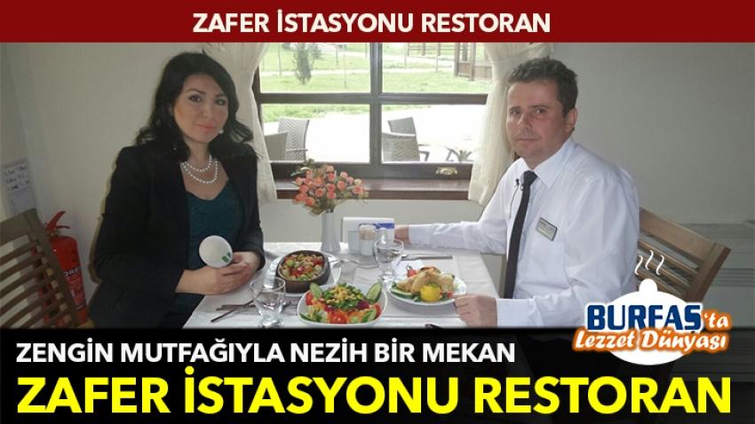 Zengin mutfağıyla nezih bir mekan: Zafer İstasyonu Restoran