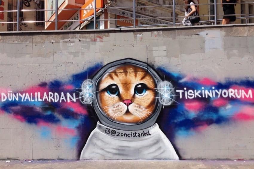 Graffiti sanatçısı Zone(zoneistanbul): Graffiti'lerim duvarların içinde, boyaların altında kaldı!