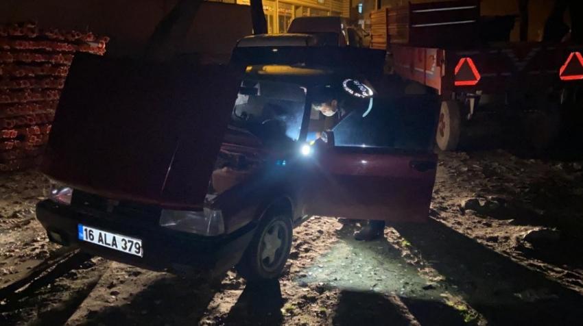 Bursa'da hırsız-polis kovalamacısı